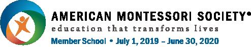 Logo for American Montessori Society Member School